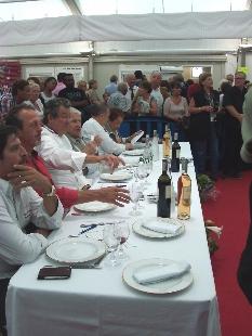 stars en cuisine Sainte Maxime - octobre 2013 - le jury