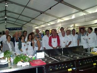 Stars en cuisine Ste-Maxime 2013 - concurrents, jury, chefs, organisateurs