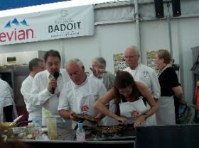 Stars en cuisine Ste-Maxime 2013 - Charlotte Valendrey