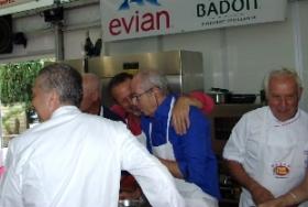 Stars en cuisine Ste-Maxime - Thibaux et Vaissière aux fourneaux