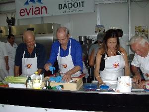 Stars en cuisine Ste-Maxime - Jean Michel Thibaux et Pierre CJ Vaissière
